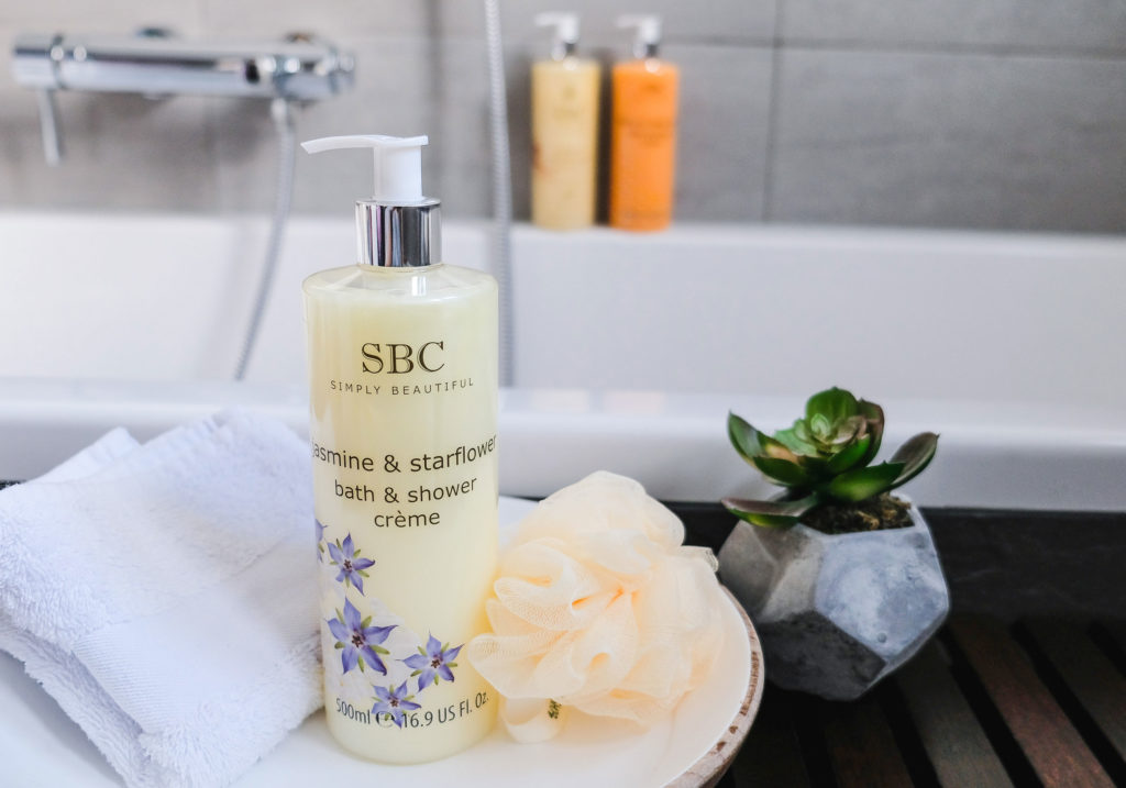 SBC Jasmine & Starflower Bath & Shower Creme