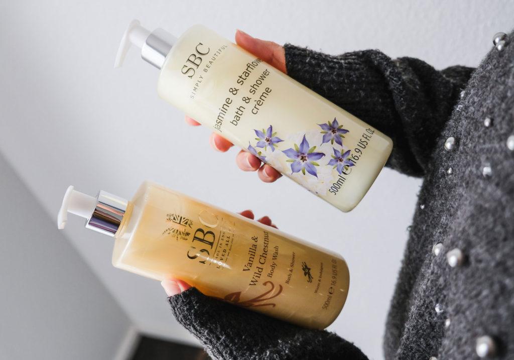 SBC Vanilla & Wild Chestnut & Jasmine & Starflower Bath & Shower Creme