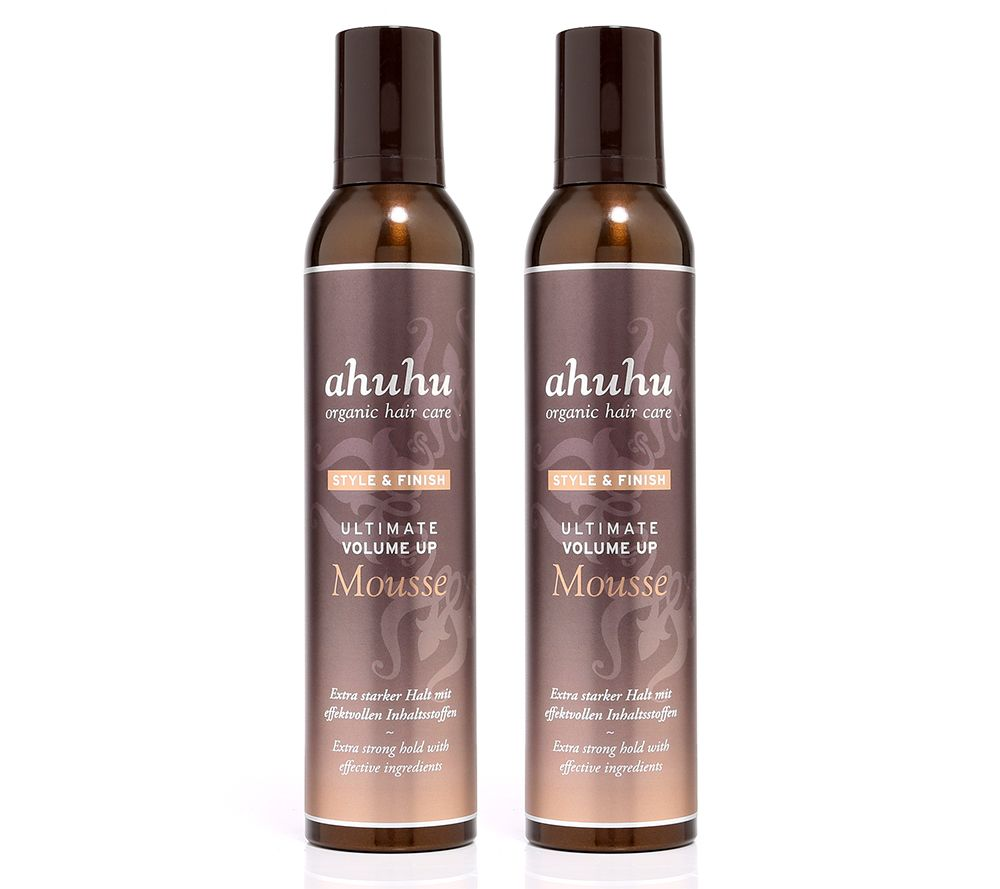 ahuhu organic hair care Volume up Mousse