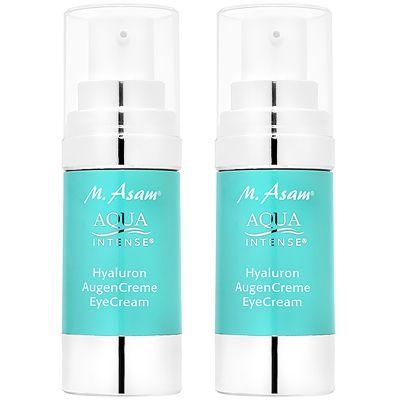 M.ASAM® Aqua Intense® Hyaluron Augencreme 2x 30ml