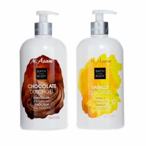 M.ASAM® Duschgel-Set Chocolate & Vanille 2x 750ml