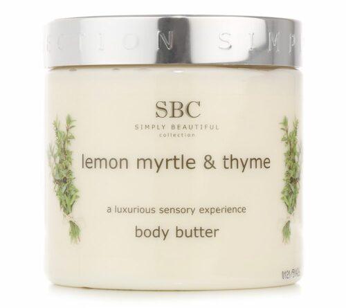 SBC Zitrus Myrte & Thymian Körperbutter 450ml