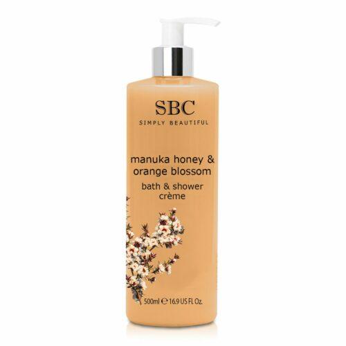 SBC Manuka Honig Dusch & Badecreme 500ml