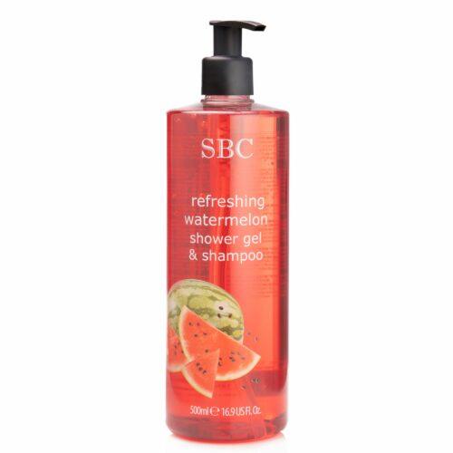 SBC Wassermelone Duschgel & Shampoo 500ml
