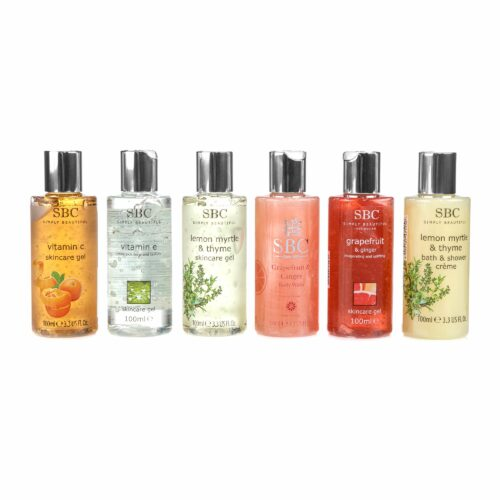 SBC Mini Collection Duschgele & Skincare Gele 6x100ml