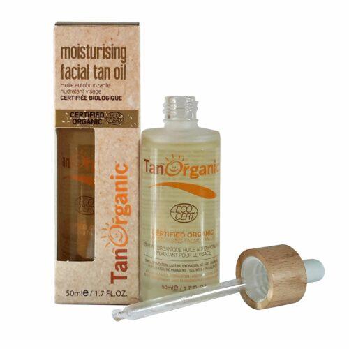 TANORGANIC Moisturising Facial Tan Oil Gesichts-Bräunungsöl 50ml