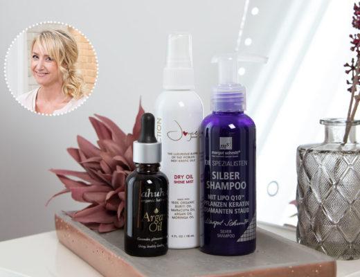 Produkte für glänzendes Haar
