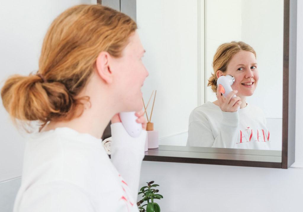 SONULASE Facial Brush Anwendung 1