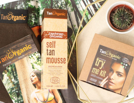 TANORGANIC Self Tan Mousse Try Me Kit
