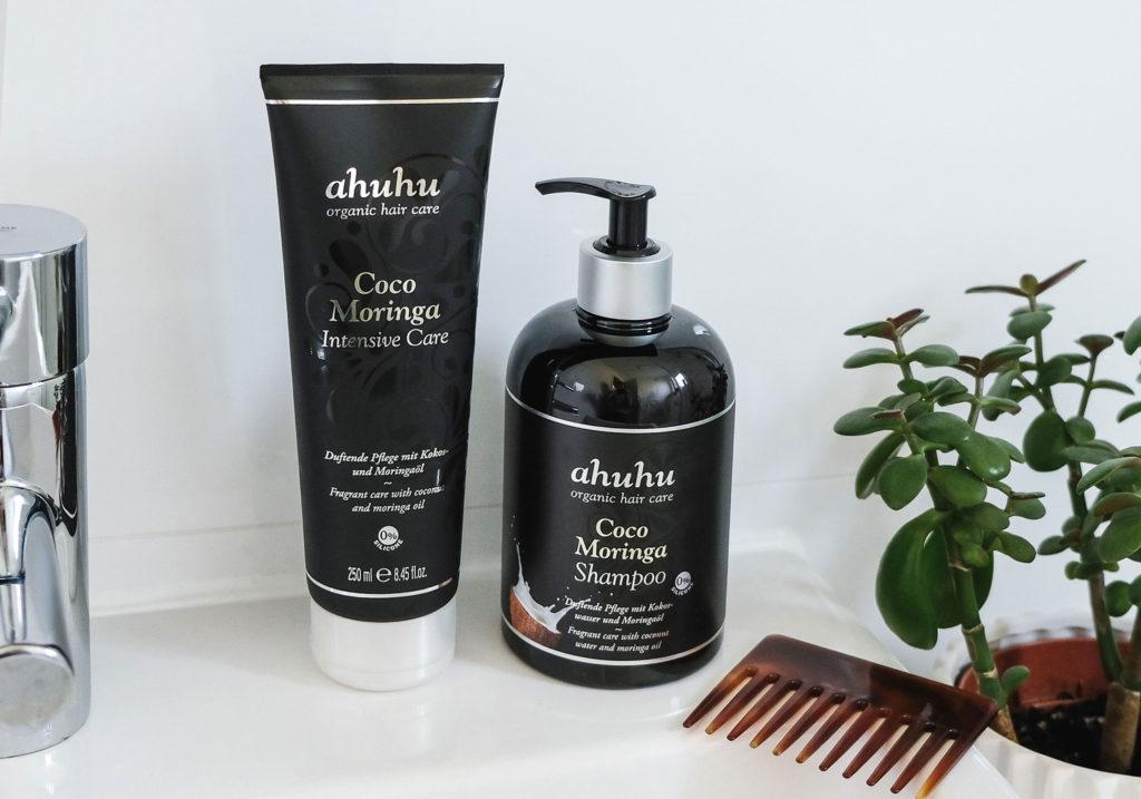 ahuhu organic hair care Coco Moringa Haarpflege 2
