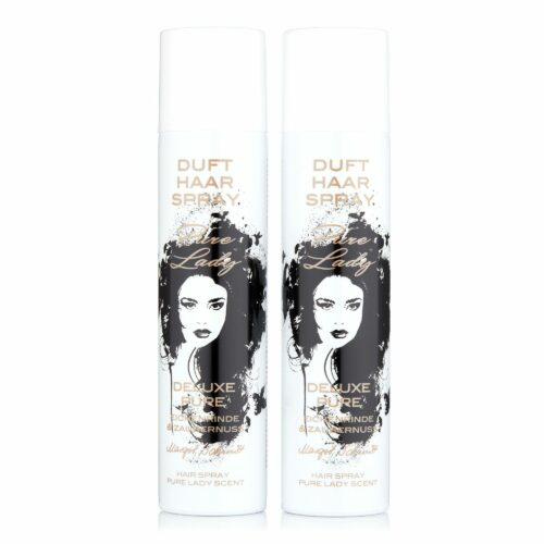 MARGOT SCHMITT® Deluxe Pure Haarspray Duft Sonderedition Pure Lady 2x 300ml