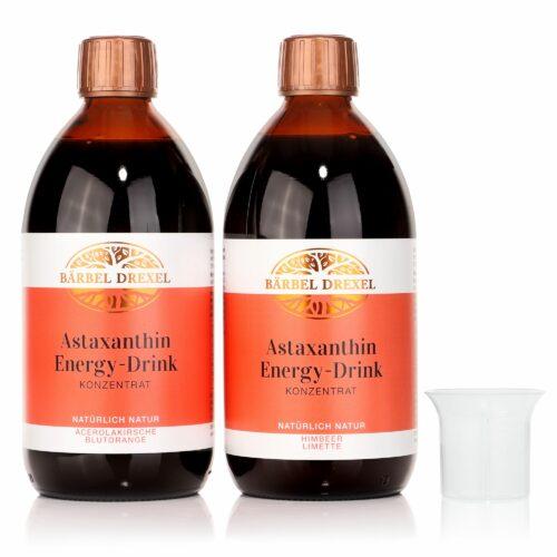 BÄRBEL DREXEL Astaxanthin Energy-Drink Sofort-Effekt 2x 500ml für 100 Tage