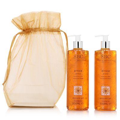 SBC Arnica Skincare Gel 2x 500ml & Organzabeutel