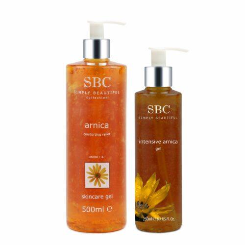 SBC Arnica Skincare Gel 500ml & Intensive Gel 250ml