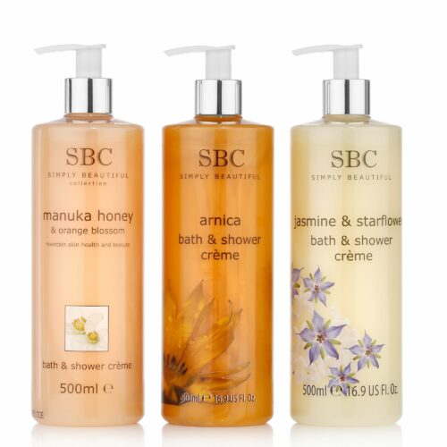 SBC Shower Collection Arnica, Jasmin & Manuka Honey je 500ml