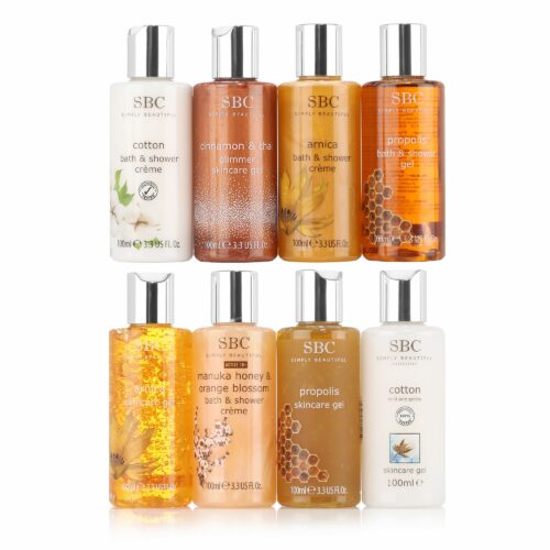 SBC Mini-Collection Skincare Gel & Duschgel 8x 100ml