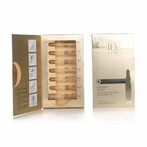 ID LUXE Golden Glow Ausstrahlungs- ampullen mit Gold Duo 14x 2ml