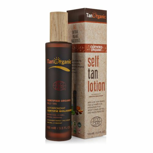 TANORGANIC Self Tan Lotion Körper- Bräunungslotion 100ml