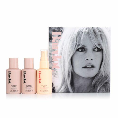 AMERICAN ENGLISH Brigitte Bardot Volumen Reise-Set Shampoo, Conditioner & Thickening Spray