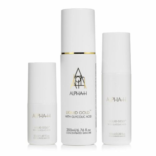 ALPHA-H Liquid Gold Lotion Sondergröße 200ml, 100ml & 50ml 3tlg Set
