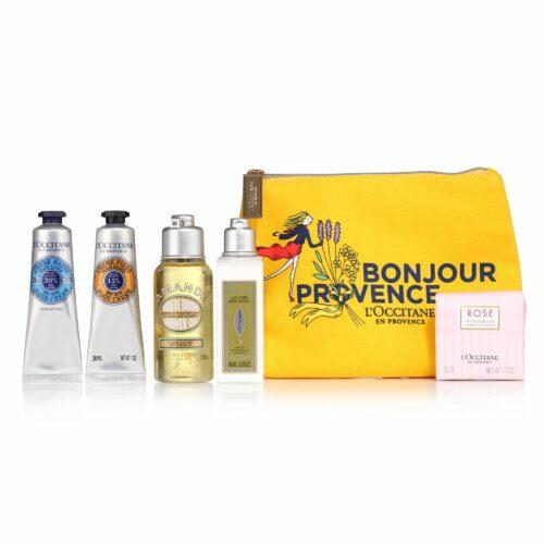 L'OCCITANE Bestseller-Set Bonjour Provence ink. Tasche 6tlg.