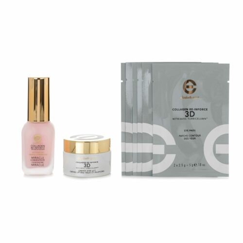 ELIZABETH GRANT Collagen Miracle 30ml, Eyepads 6x 2 Stück & Eyecream 30ml