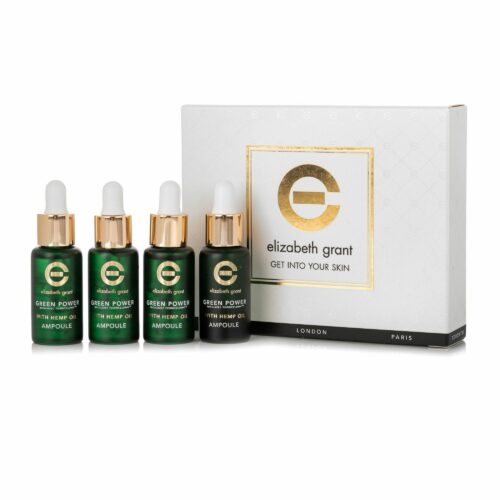ELIZABETH GRANT Green Power & Hemp Oil Ampullen 4x 10ml