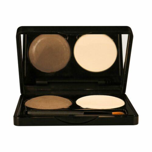 MAKE-UP STUDIO® Augenbrauen Kit für perfekte Augenbrauen in zwei Farbtönen