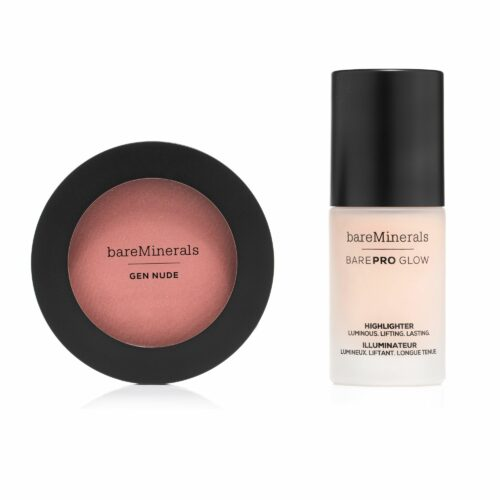 bareMinerals® Blush & Glow-Duo Gen Nude® Powder Blush & BarePro® Illuminator