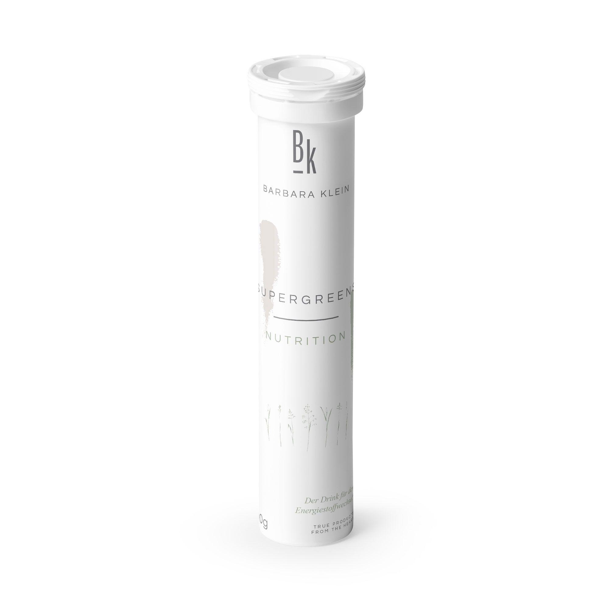 BK by Barbara Klein Supergreens Brausetabletten, 8 Superfoods & Vitamine 20 Stück