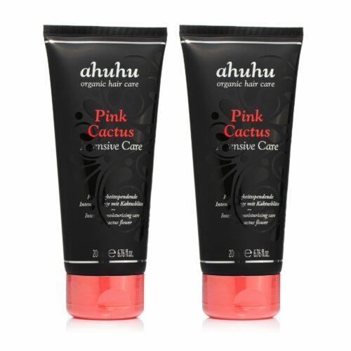 ahuhu organic hair care Intensive Care Pink Cactus 2x 200ml