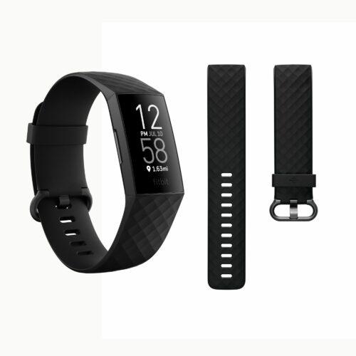 FITBIT Fitnesstracker integriertes GPS wasserabweisend bis 7 Tage Akku Charge 4