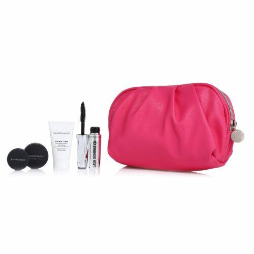 bareMinerals® Celebrate Beauty Set mit Artikeln in Reisegrößen mit Tasche, 5tlg.