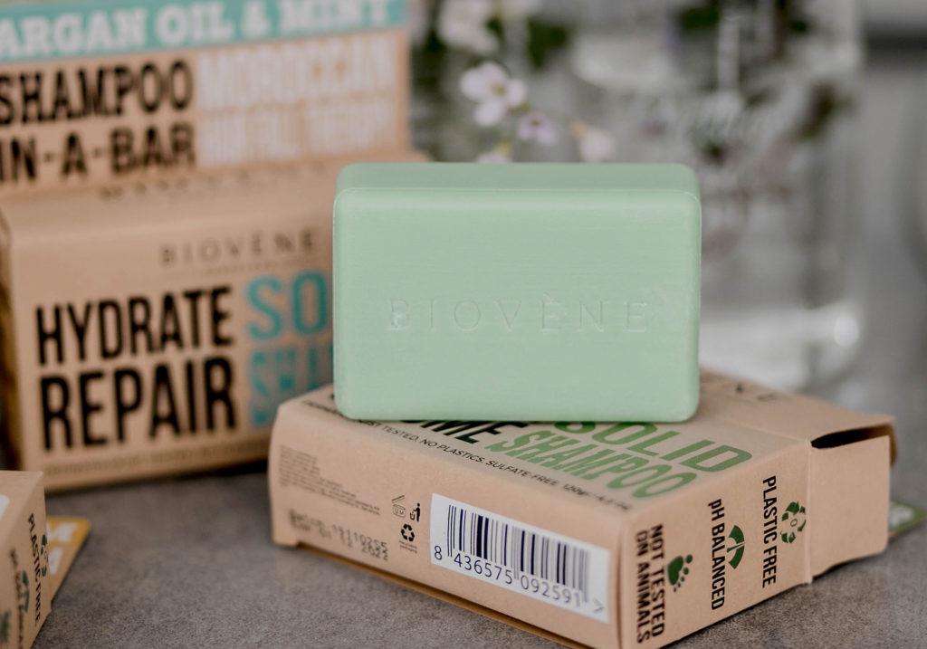BIOVENE Biotin Apple Cidder Moisture Volume Solid Shampoo 1