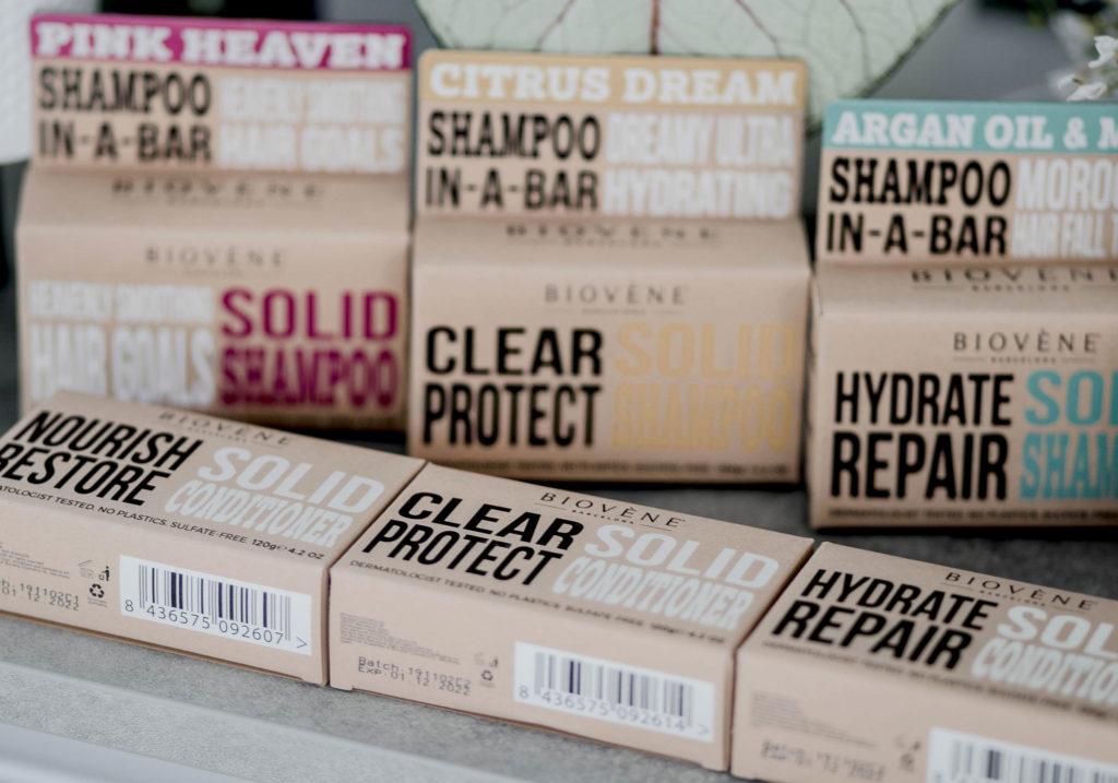 BIOVENE Solid Shampoos Conditioners 1