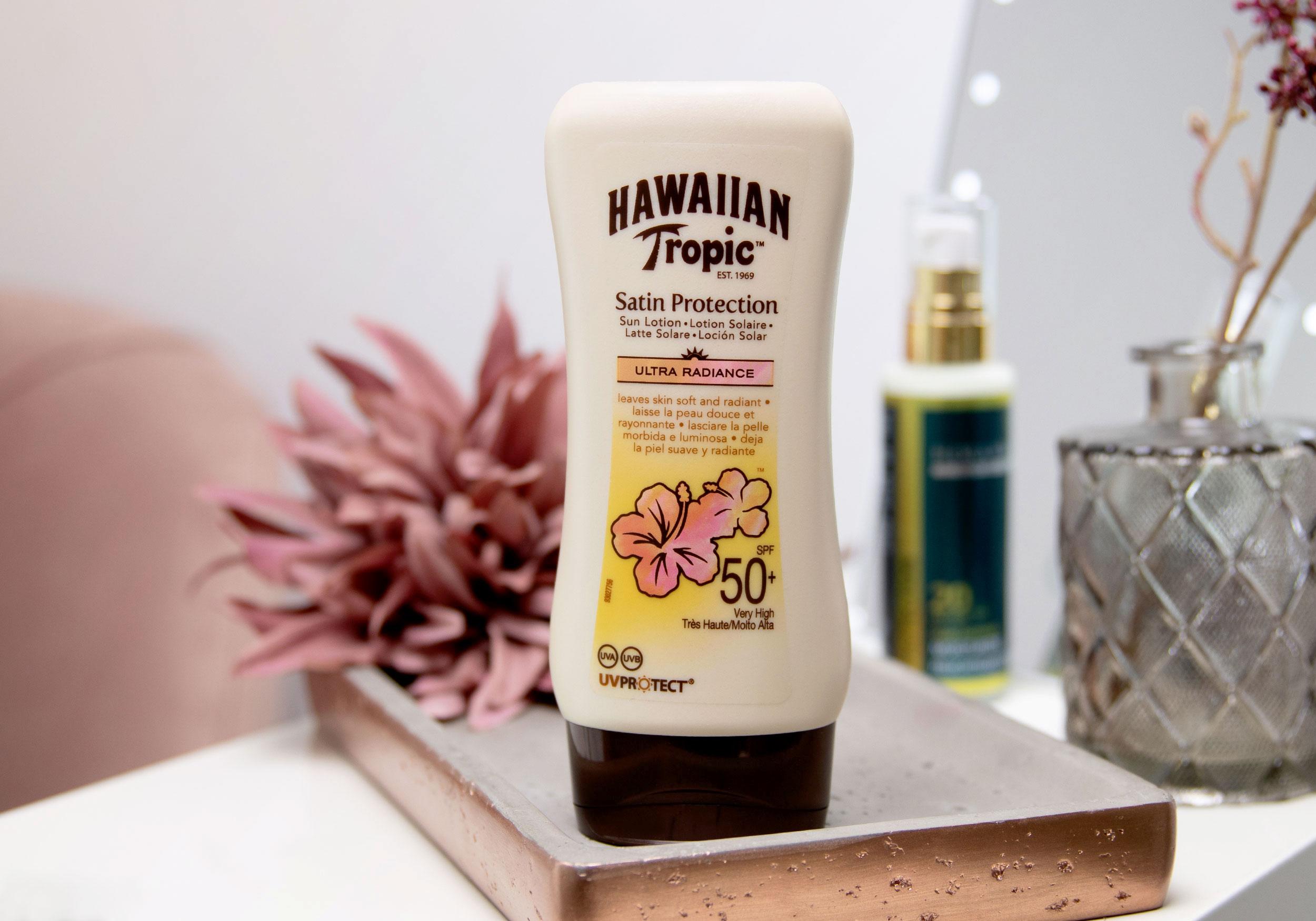 HAWAIIAN TROPIC ULTRA RADIANCE Satin Protection Sun Lotion SPF 50