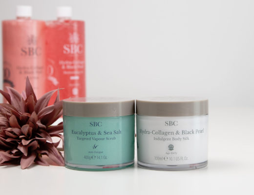 SBC Eucalyptus & Sea Salt Scrub & Hydra-Collagen & Black Pearl Indulgent Body Silk
