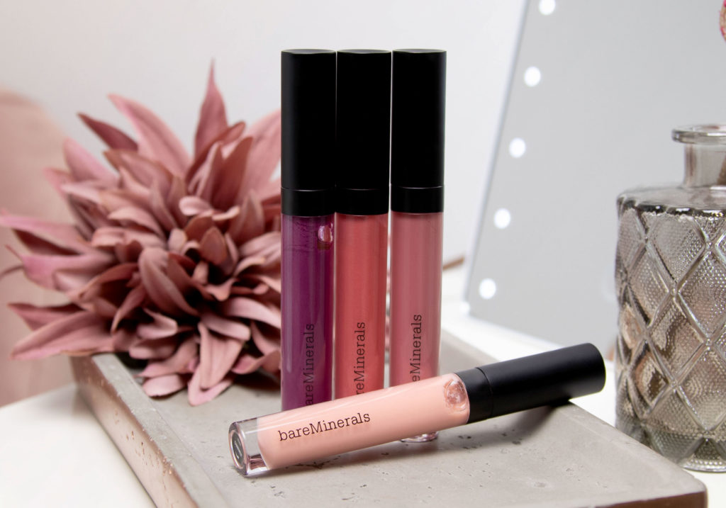 bareMinerals Moxie Plumping Lipgloss Collection