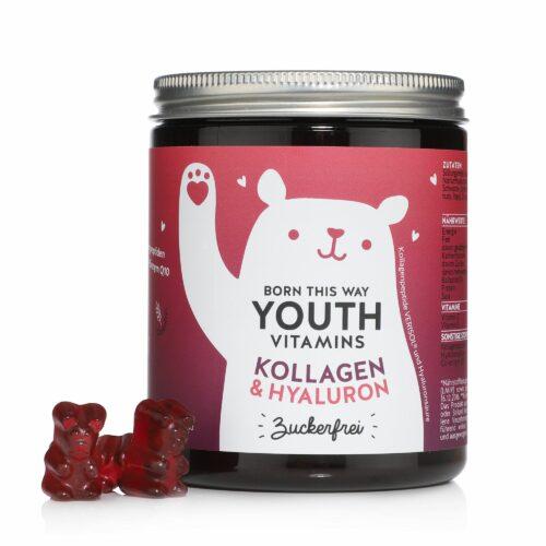 BEARS WITH BENEFITS Born This Way mit VERISOL®, Q10 & Hyaluronsäure 90 Fruchtgummis