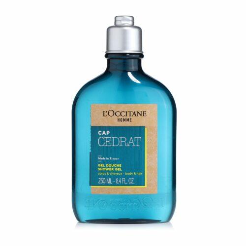 L'OCCITANE Herren-Duschgel Zeder für Körper & Haare 250ml
