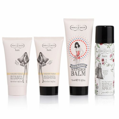 PERCY & REED Wonder Balm, Shampoo, Conditioner, Glanzspray & Tasche