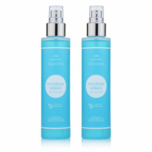 ALMIVITAL Hylointense Hygiene-Spray mit Hyaluron & Aloe Vera 2x 150ml