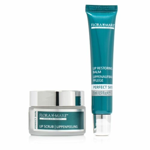 FLORA MARE™ Perfect Skin Lippenpflege-Duo Balsam 15ml & Peeling 30ml