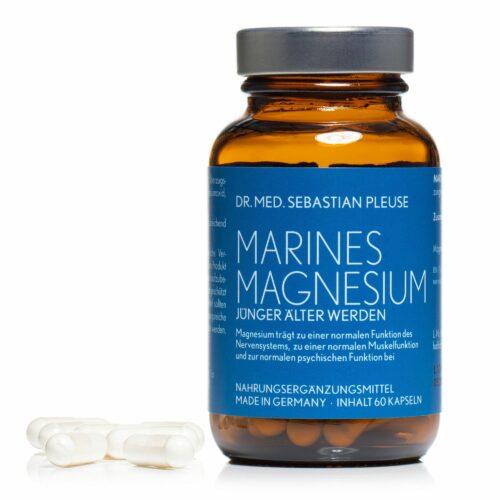 Dr. med. Sebastian Pleuse Marines Magnesium 60 Kapseln für 30 Tage