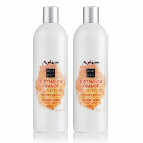 M.ASAM® Buttermilch Orange Aqua Lotion 2x 500ml