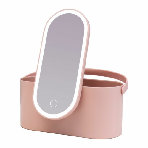 AILORIA MAGNIFIQUE Kosmetikspiegel + LED Licht & integr. Aufbewahrungsbox