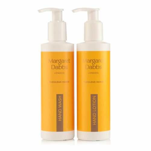 MARGARET DABBS LONDON hydratisierende Handlotion 200ml & Handseife 200ml