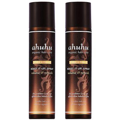 ahuhu organic hair care Trockenshampoo für Volumen & Frische 2x 300ml