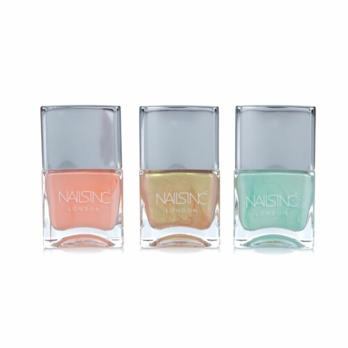 NAILS.INC® Nagellack-Set Summer Pastels 3x 14ml