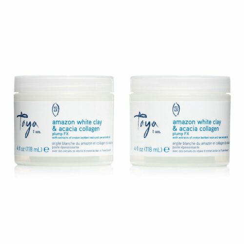 TAYA HAIRCARE Weiße Tonerde Akazie Collagen Stylingcreme 2x 118ml